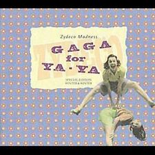 Various Artists : America-Gaga for Yaya-Zydeco Madness CD (1999)