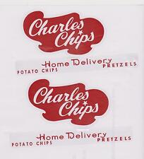 BUDDY-L  CHARLES CHIPS DECAL SET