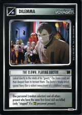 STAR TREK CCG HOLODECK RARE CARD THE CLOWN: PLAYING DOCTOR