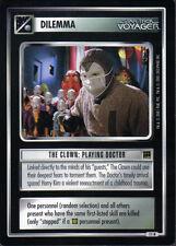 STAR TREK CCG HOLODECK RARE CARD THE CLOWN: PLAYING DOCTOR