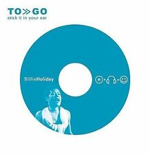 BILLIE HOLIDAY - TO GO: STICK IT IN YOUR EAR [EP] NEW CD