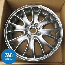 "1 x NEW GENUINE MINI 17"" JCW RAD CROSS SPOKE R114 5.5J ALLOY WHEEL 6786220"