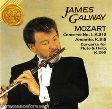 JAMES GALWAY - James Galway Plays Mozart (EU 7 Tk CD Album)