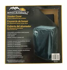 MASTERBUILT 40 Inch Gas Smoker Cover Weather & Fade Resistant Black