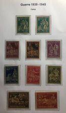 Mint Ukraine Regensburg Camp Post Stamp Collection Lot