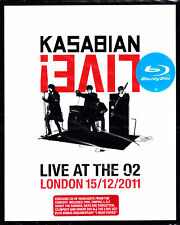 KASABIAN live at the O2 london 15.12.2011 Blu-ray + CD NEU OVP/Sealed
