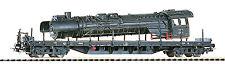 Piko 54803 Güterwagen Flachwagen Rgs3910 DR mit Lokkessel H0