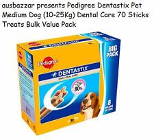 Pedigree Dentastix Pet Medium Dog 10-25Kg Dental Care 70 Sticks Treats Bulk Pack