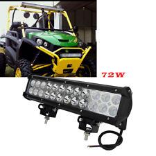 "12"" 72w High Power LED Light Bar 4x4 ATV Quad Ranger can-am Wildcat UTV Rhino"