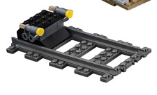 LEGO City Cargo Train 60198 Buffer end stop with 1 straight track only.