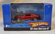 2005 Ford Mustang GT 1/87 scale Die-cast Model With Display Case From Hot Wheels