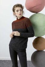 Lang Yarns Novena Knitting Pattern Pullover As Download Fam 247