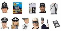 Men's Women's Cops & Robbers Fancy Dress Accessory Items Hen Stag Night Fun