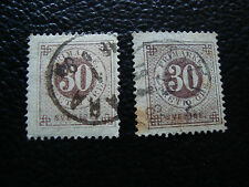 SUEDE - timbre yvert et tellier n° 23A x2 obl (A27) stamp sweden