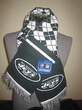 New York Jets NFL Scarf-NWT & (1) Jets Ultra Decal