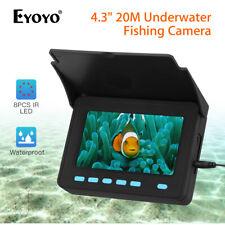 Eyoyo 20M Fish Finder 1000TVL + Sun-shield Underwater Fishing Video Camera