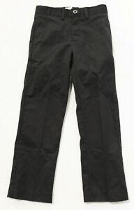 Irvington By Dennis Boy's Regular Fit School Uniform Pants LV5 Navy Size 7 NWT