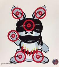 24 Ninja bunny targets.