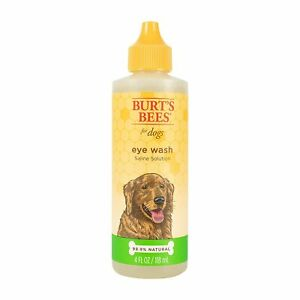 Burt's Bees Eye Wash Saline Solution for Dogs, 4 Fluid Ounce