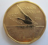 2004 CANADA $1 FLYING GOOSE SPECIMEN DOLLAR COIN