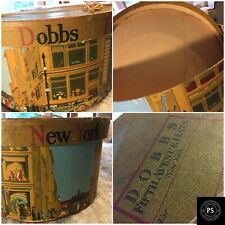 Women's Vintage Dobbs 5th Ave New York Hat Box Sku 003-028