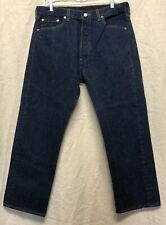Vintage Early 80's Usa Made Levi's 501xx Dark One Wash Tag Size 36x30