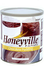 Honeyville Instant Chocolate Pudding Mix #10 can - food storage for preppers