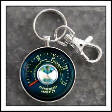 68 Plymouth Barracuda Performance Indicator Gauge Photo Keychain Unique Gift 🎁
