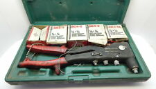 MARSON Deluxe Rivet Gun with Rivets and Case-Model 39001 with HP-2 39000 Riveter