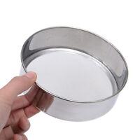 Kitchen Stainless Steel Fine Mesh Oil Strainer Flour Colander Sifter Sieve Tool