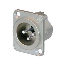 Neutrik 3 Pole NC3MD-LX Panel Plug