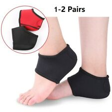 1-2 Pack Plantar Fasciitis Therapy Wrap Arch Support Relieve Heel Pain Spur Sock