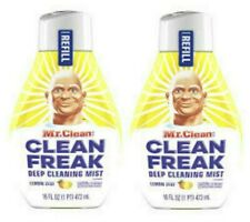 Mr. Clean Clean Freak - SET of (2) 16 oz LEMON ZEST REFILLS Multi-Surface Spray