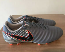 NIKE TIEMPO LEGEND 7 ACADEMY FG SILVER LEATHER UK9, EUR44, AH7242 408, GENUINE