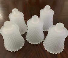 5 Frosted White Jewelite Votive Cups From Home Interiors From The 80's Homco