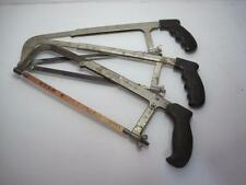 9874 Lot (3) Hack Saws Good Used Condition FREE Shipping Continental USA