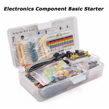 Electronics Component Basic Starter Kit With830 Tie Points Breadboard Resistor Diy