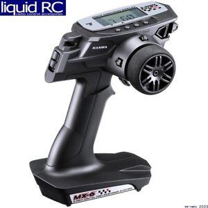 Sanwa 101A32561A Mx-6 Fh-E 3-Channel Transmitter W/ Rx-391w Waterproof Receiver