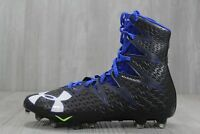36 Under Armour Highlight MC Football Cleats Black Blue 1269693-041 7.5-11.5