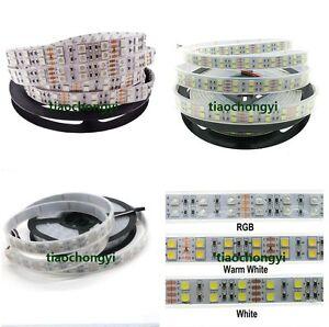 DC12V 5050 Double row Flexible LED strip light RGB white 120LED/M 5M/roll