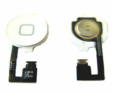 IPhone 4 4G Internal + External Home Menu Middle Button Flex Replacement  White