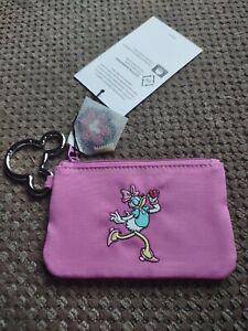 2021 Disney Vera Bradley Zip ID Case Sensational Daisy Duck Pink