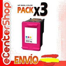 3 Cartuchos Tinta Color HP 300XL Reman HP Deskjet F4580