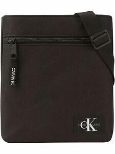 Calvin Klein Herren Umhängetasche Micro Flatpack Schwarz K50K505988BDS