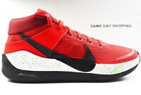 Nike KD13 TB (Mens Size 10) Shoes CK6017 600 Red Black White Multicolor BRED