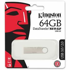 Kingston DataTraveler SE9 G2 DTSE9G2/64GB 64GB 64G USB3.0 Flash Drives