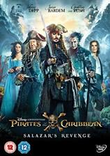 Pirates of The Caribbean 5 Salazar's Revenge DVD 2017 Action Movie W Johnny Depp