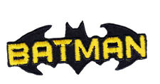 Batman Fledermaus Schriftzug Gr Bügelbild