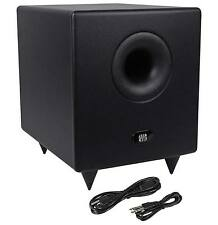 "Presonus Temblor T8 200 watt 8"" Active Powered Studio Subwoofer with Crossover"