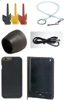 FishSpy NEW Fishing Camera Accessories, Fins, Foamy, Booms, Range Extenders,Case